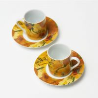 Espresso set Sunflowers