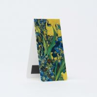 Bookmark magnetic, Irises