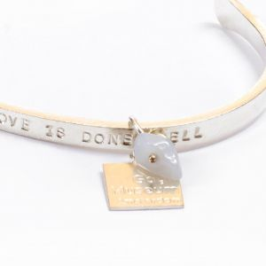 Van Gogh A Beautiful Story® Bangle quote 'Love